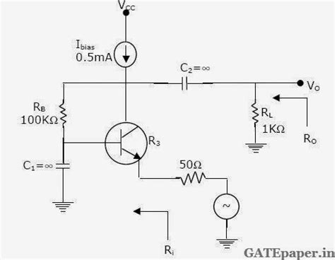 transistor lifier ac gate 2018 previous solutions lectures for free previous gate questions on bjt small