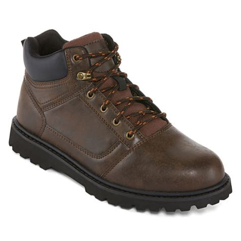 jcpenney work boots big mac citrus mens steel toe work boots jcpenney
