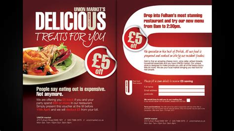 design flyer for restaurant restaurant flyer alan cbell freelance graphic