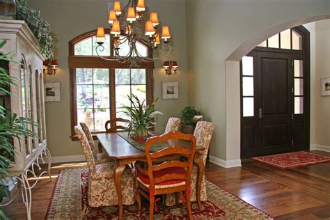 Dining Room In Entrance Entry House Dining Room Traditional With Wall Decor Wall Decor
