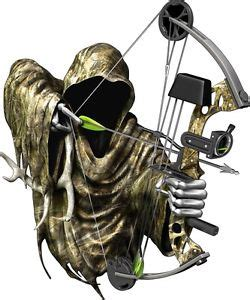 deer buck grim reaper bow rifle gun season hunting decal