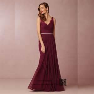 maroon color dress maroon bridesmaid dress reviews shopping maroon