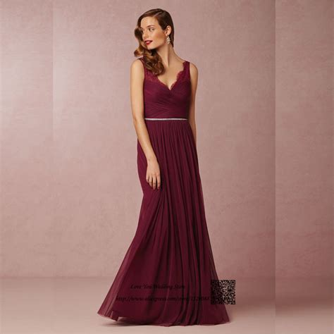 Wedding Dress Maroon by Maroon Bridesmaid Dress Reviews Shopping Maroon