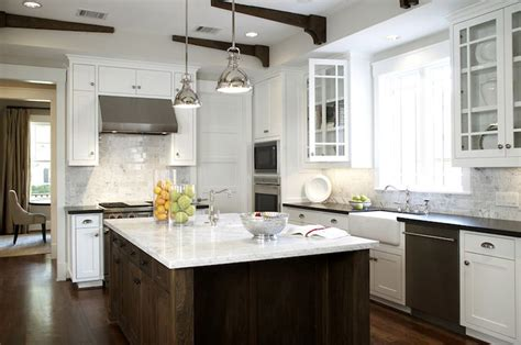 carrara marble kitchen island rustic oak stained kitchen island with marble counter kitchen brown kitchen island white