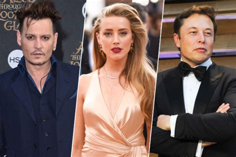 Elon Musk Amber Heard Dating After Johnny Depp Split | amber heard seen with her new boyfriend elon musk after