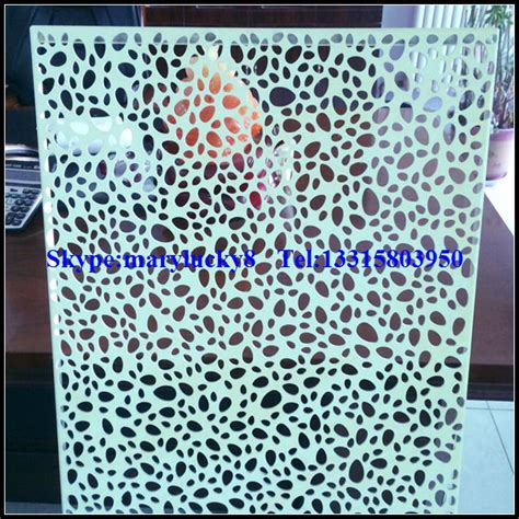 Decorative Sheet Metal Panels by Decorative Perforated Sheet Metal Panels Perforated Metal
