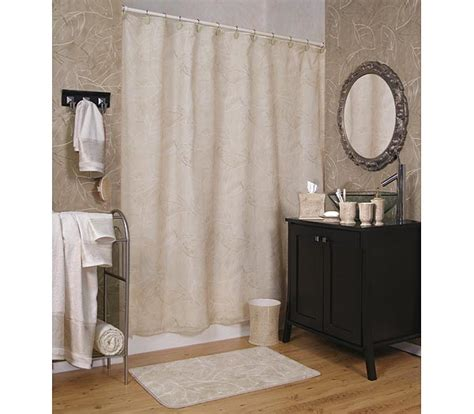 Kathy Ireland Curtains Kathy Ireland Home Wailea Grove Shower Curtain And Bath Accessories Townhouse Linens