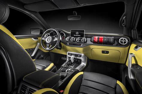mercedes x class concept front interior motor trend