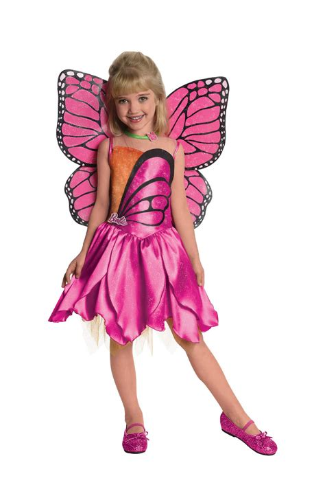 girls fancy dress halloween costumes the costume land kids barbie deluxe mariposa girls costume 42 99 the