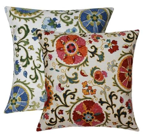Decorative Throws by Suzani Decorative Throw Pillows To Use As Throw Pillows