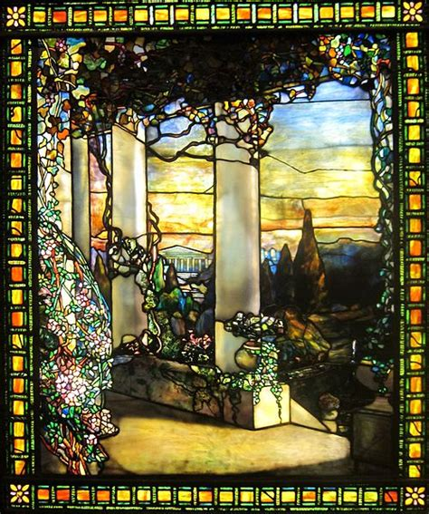 louis comfort tiffany paintings tiffany stained glass art lesson