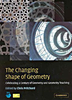 the telling image shapes of changing times books review of the changing shape of geometry