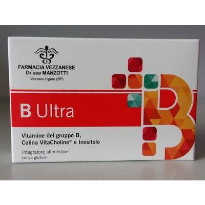 inositolo integratore alimentare b ultra integratore di vit b con colina e inositolo
