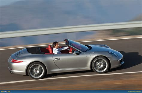 porsche 911 convertible ausmotive com 187 2012 porsche 911 carrera cabriolet revealed