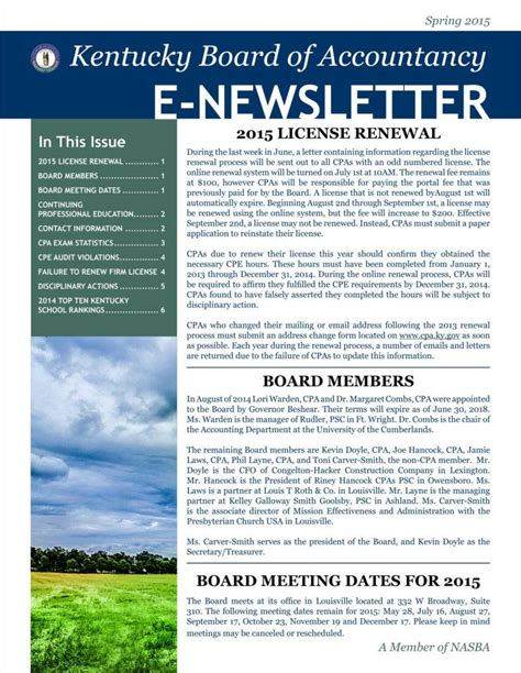 9 Basic Newsletter Templates Free Word Pdf Format Download Free Premium Templates Accounting Newsletter Templates