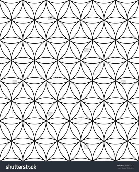 geometric tattoo vector vector modern sacred geometry seamless pattern flower of