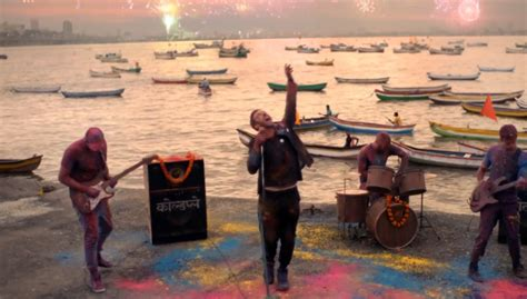 coldplay weekend coldplay release hymn for the weekend music video ft