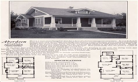 1920 Bungalow House Plans by 1920 Bungalow House Plans