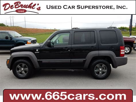 2011 Jeep For Sale 2011 Jeep Liberty Renegade For Sale In Asheville