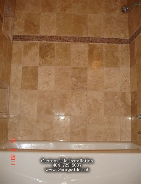 tile bathtub shower tub shower travertine shower ideas pictures