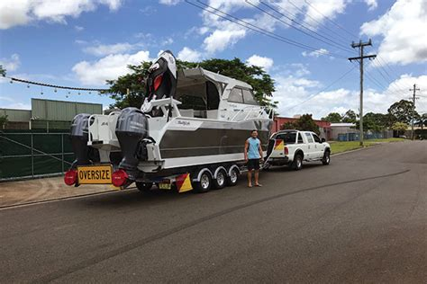 towing a boat into the us towing a boat around australia trade boats australia
