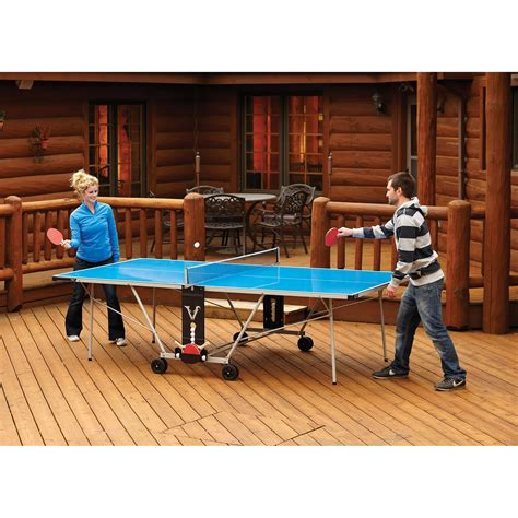 backyard chirper viper aspen outdoor table tennis table