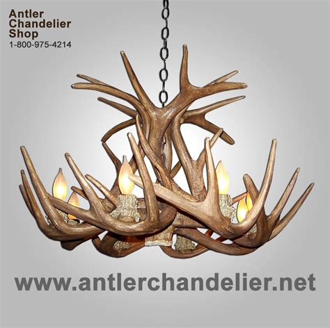 Small Antler Chandelier Small Med Chandeliers Antler Chandelier