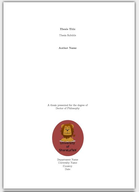 latex tutorial title page how to write a thesis in latex pt 5 customising your