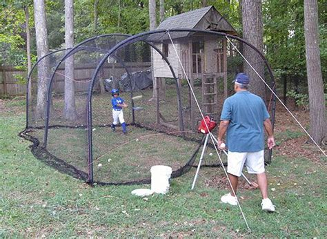 how to build a backyard batting cage 17 best z baseball batting cage ideas images on pinterest