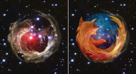 imagenes del universo en vivo firefox logo spied in deep space wired