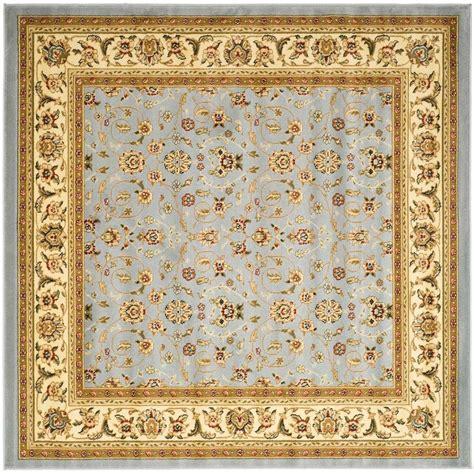 10 Ft X 10 Ft Square Rug - safavieh lyndhurst light blue ivory 10 ft x 10 ft square