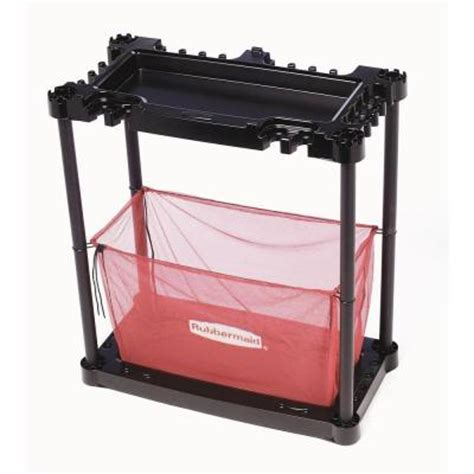 Rubbermaid Organizer Rack by Rubbermaid 2 Shelf Plastic Sporting Goods Storage Rack In