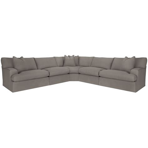 large gray sectional city furniture delilah gray fabric large two arm sectional