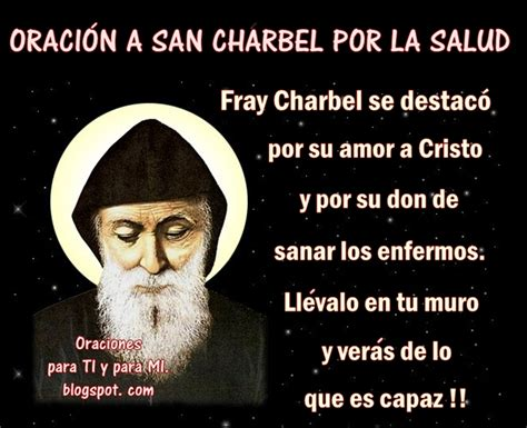 oracion para que se arrepienta y sea fiel oraciones para ti y para m 205 oraci 211 n a san charbel por