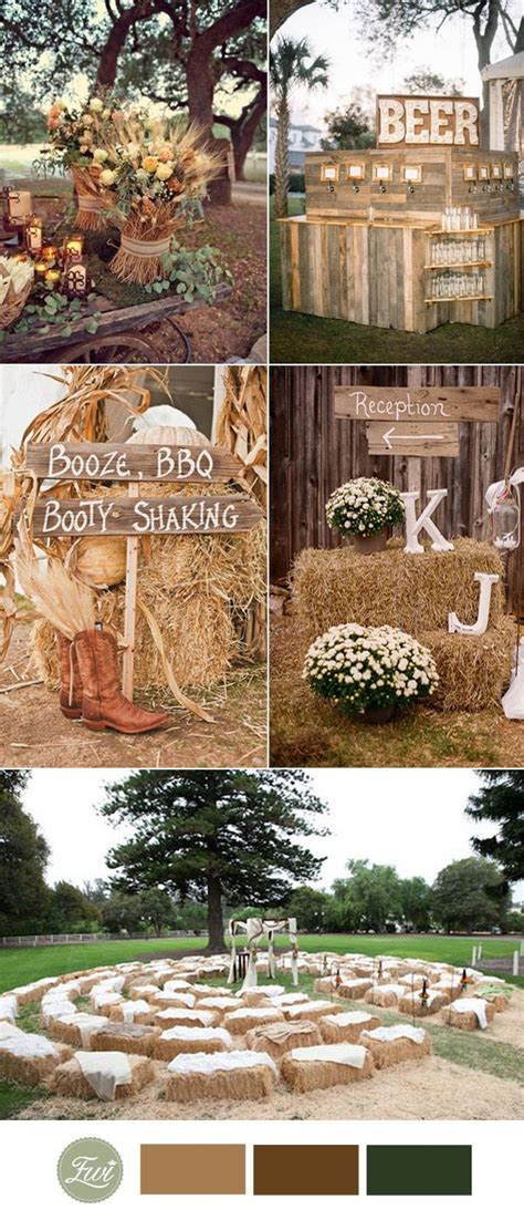 fall country wedding decorations 25 best ideas about rustic wedding favors on