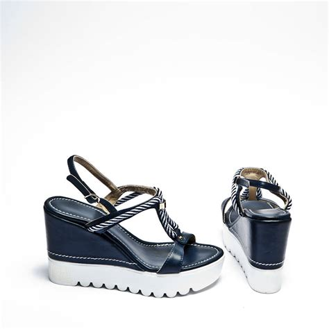 nautical wedge sandals nautical rope wedge sandals by espadrille