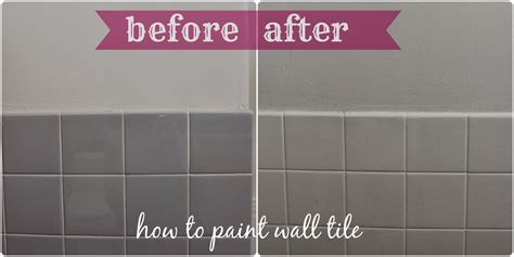 how to paint ceramic tile in a bathroom painting bathroom tile