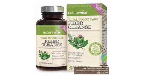 Naturewise Total Colon Care Advanced Detox Cleanse by Vi 234 N Thanh Lọc Cơ Thể Naturewise Total Colon Care Fiber