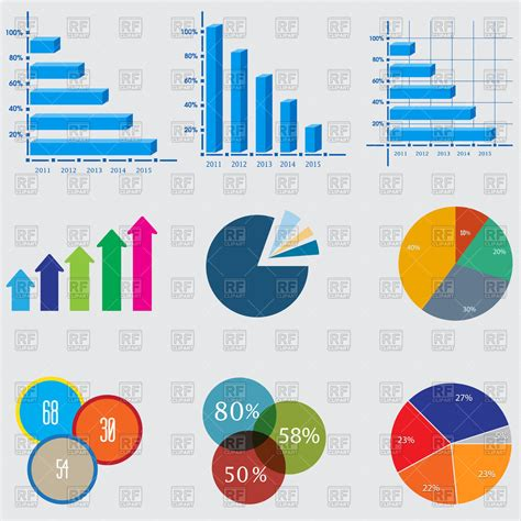 eps clipart charts clip cliparts