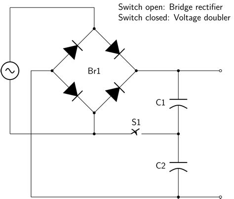 how diode bridge works file switcheable rectifier svg wikimedia commons