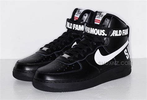 nike air 1 high supreme 2015 nike af1 air 1 high x supreme hi sp shoes