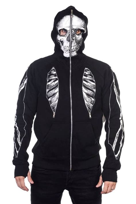 Hoodie The Chainsmokers Jaket Sweater Keren banned skeleton bone s hoodie clothing for guys