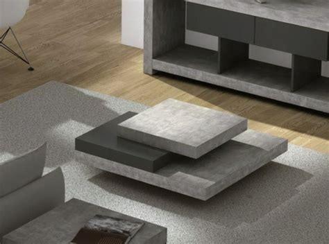 Couchtisch aus Beton? Eine extravagante Idee!   Archzine.net