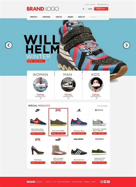 templates for online shopping 30 free ecommerce psd templates for designers psd downloads