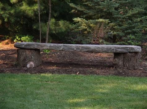 stone wood bench 1000 images about stone benches on pinterest fire pits