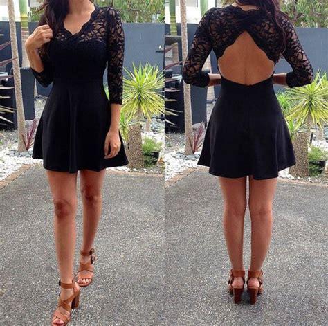 Dress Moster Dress Black shoes high heels dress blouse lace dress lace open