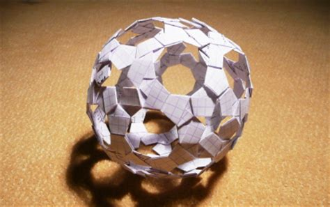 Papercraft Sphere - papercrafty step into a world of paper the origami and