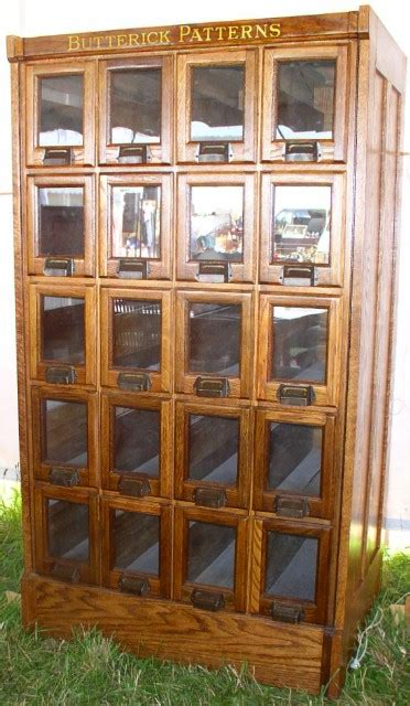 vintage pattern cabinet country store display cases archive brass lantern antiques