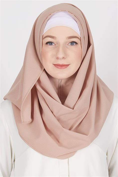 tutorial hijab pashmina muka bulat ragam muslim