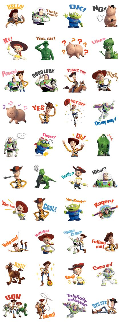 theme line toy story ios toy story line sticker rumors city
